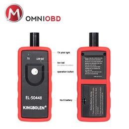 Wholesale Honda Sensors - A+Quality EL50448 Auto Tire Presure Monitor Sensor OEC-T5 EL 50448 For SPX G.M for Opel TPMS Reset Tool EL-50448 Electronic
