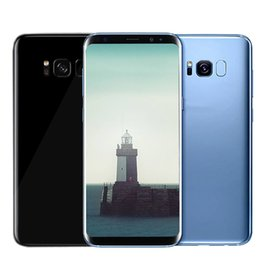 Wholesale Wholesale Cells Phones - Goophone S8 plus smartphone 5.8inch 1G 4G Android 6.0 Unlocked can show fake 4G 128 Quad core MTK6580 Cell phone