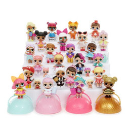 Wholesale Baby Toys Sound - LOL SURPRISE DOLL New Surprise Doll LOL Egg Drop Toys R Us Fuggets Bears Toys Dolls