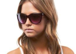 Wholesale Square Frame Wayfarer - Top Qualtiy! TR90 Frame Polarized Fringe Women Sunglasses Eyewear Fashion Style UV400 Protection Free shipping