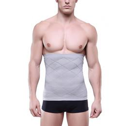 Wholesale Belly Band Shapewear - Wholesale-Men Tummy Waist Belly Fat Slimming Body Shapewear Girdle Belt Band Corset