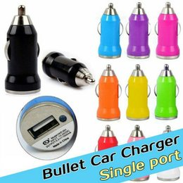 Wholesale Red S3 - 5V 1A Mini usb Car Charger for iPhone 3G 3GS 4 4S 5 6 Samsung Galaxy S3 S4 iPod Cell Mobile Phone Charger Adapter