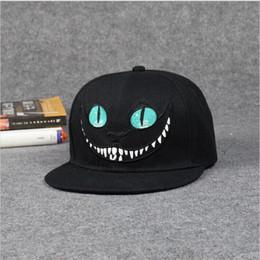 Wholesale Bugs Bunny Snapback - Alice Wonderland Cheshire Cat cartoon baseball caps BUGS BUNNY SYLVESTER hats for Men and Women snapback hiphop
