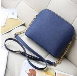 Wholesale genuine killer - crossbody shoulder bag Woman European shell crossbody chain killer real Genuine leather message bag purse