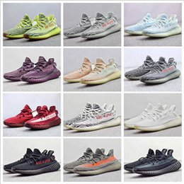 Wholesale Women Cycle Shoes - Adidas Originals Yeezy Boost 350 V2 Semi Frozen Yellow B37572 Zebra Cp9654 Orange Grey Beluga 2.0 AH2203 Kanye West Running Shoes With Box