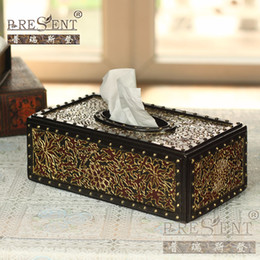 Wholesale Prius Accessories - Prius series tissue box decoration american style home accessories 3f713