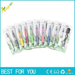 Wholesale New Style Blister - EGO wholesale electronic cigarettes suit EGO - CE4 blister package X6 electronic cigarettes new style hot sale
