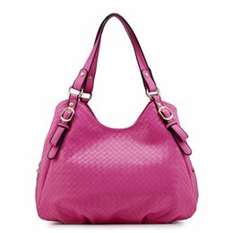 Wholesale Soft Leather Laptop Bags - New Brand Style Design Pu Leather Women's Tote Handbag One Shoulder Bags Fashion Shopping OL Laptop Notebook Camera Bags