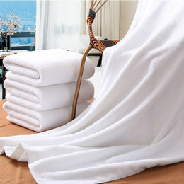 Wholesale White Washcloths - Microfiber Bath Towels Washcloth Professional Microfiber Beach Absorption sweat White Quick drying Shower Swinning Spa Towel 70x150cm OEM