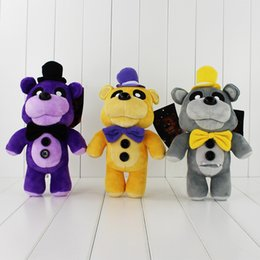 Wholesale Shipping Stuffed Bear - 29cm Five Nights at Freddy's Teddy Bear Plush Soft Stuffed Doll Toy for kids gift free shipping retail