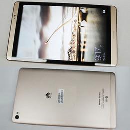 Wholesale Tablet Huawei Mediapad Fhd - Huawei MediaPad M2 Tablet PC 64GB ROM Kirin930 Octa Core 8.0 inch 1920X1200 3GB RAM 8MP 4800mAh 4G LTE WIFI Optional