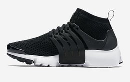 Wholesale Highest Discount Boots Mens - High quality AIR PRESTO mens Running shoes,Discount cheap white Training Shoes,Casual Sports Footwear,Air Presto Ultra Flykn Sneakers Boots