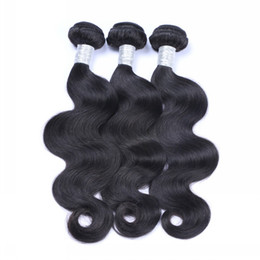 Wholesale Wholesale Brazilian Hair For Sale - 8A Peruvian Hair Weave Brazilian Malaysian Indian Hair Body Wave 3pcs Lot Unprocessed Human Hair Extensions Bundles For Sale