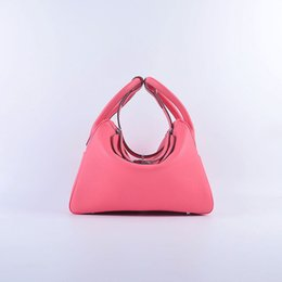 Wholesale Drawstring Dust Covers - Lady Bucket Bag Sweet 4Color Handbag Genuine Leather Fashion Brand Tote 5A Grade Gift Package(Card,Dust Bag)#6207S