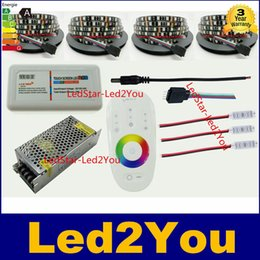 Wholesale Green Led Reel - 5M Reel RGB Led Light Black PCB 300LEDs Led Strip 5050 Waterproof IP65 12V Flexible Led Light Strip + Power Supply + Controller