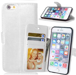Wholesale Plastic Pouch Designs - For LG K8 K350 Stand Design Wallet Style Photo Frame Leather Case Phone Bag Cover With Card Holder For LG G5