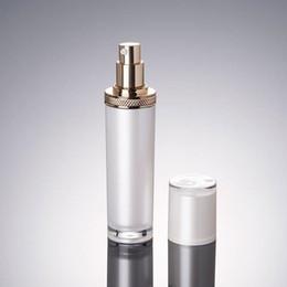 Wholesale Plastic Bottles Pump Dispenser - 30ml 50ml 100 120ml pearl white acrylic lotion bottle emulsion dispenser,lotion press pump,atomized sprayer F20171989
