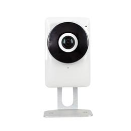 Wholesale Ip Night Vision Surveillance Systems - 2016 Mini P2P Wifi Security Cctv IP 720P Camera Wireless Fisheyes Network System Wi-fi Indoor Night Vision 1.44MM Lens Surveillance Camera