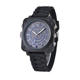 Wholesale Finish French - Wholesale- Fashion Wifi DVR Watch black color Mini P2P Pocket Mini DVR WIFI Watch With Classic Dial Gem finish smart remote WIFI Watch