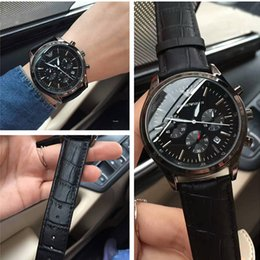 Wholesale Choice Watches - Italy brand Mens Watch Gentlemen first choice 42mm6 pin quartz movement scanning high quality classic luxury GA watches Relogio brand watch