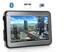 Wholesale Gps Built Mp3 - 4.3 inch GPS with FM build in 4G load 3D map