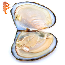 Wholesale Ship Bracelets - BELAWANG Wholesale 6-7mm Oyster Pearl Individually Vacuum Packed Big Oyster With Pearls Cultured in Fresh Oyster Pearl Free Shipping