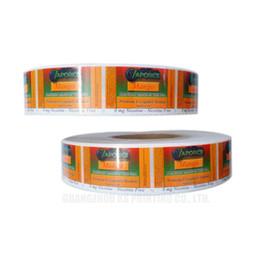etiqueta de comida personalizada Rebajas Impresión de etiquetas / pegatinas para dulces, etiquetas adhesivas personalizadas / pegatinas en rollos, pegatinas / etiquetas de alimentos personalizados