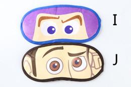 Wholesale Child Sleep Mask - FREE DHL Sleep Cartoon Eyes Mask Sleep masks Eye patch Nap Cover Blindfold Kids Children Adult Sleeping EyeShade