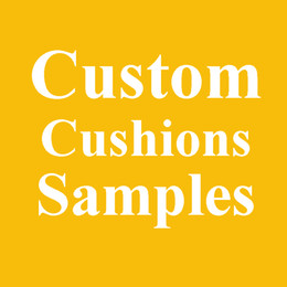 Wholesale Oem Orders - Custom Cushions Covers Samples OEM Customize Made Linen Fabric Cushion Cover Your Own Designs Print Pillow Case Sample For Custom Bulk Order