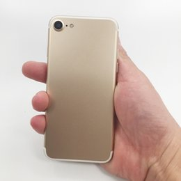 Wholesale Dual Sim 3g 1gb Ram - Goophone I7 Smartphone 4.7 inch Screen MTK6580 Quad Core Andorid 6.0.1 Show Fake Octa Core 3GB RAM 32GB ROM 16MP Camera 3G WIFI WCDMA GPS