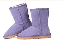 botas de invierno mujer corta Rebajas Venta de la fábrica de Alta Calidad WGG Mujeres Botas cortas cortas para mujer Botas de nieve Botas de invierno botas de cuero US SIZE 5 --- 13