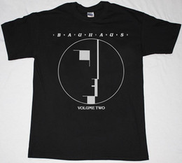 Wholesale Men Gothic Shirt - BAUHAUS VOLUME TWO GOTHIC ROCK BAND THE SISTERS OF MERCY NEW RARE BLACK T-SHIRT
