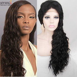 Wholesale Swiss Lace Make Wigs - Brazilian Human Hair Full Lace Wig 130% Natural Color Deep Wavy Glueless Wigs Swiss Lace Wig Virgin Brazilian Hair Wigs Free Shipping