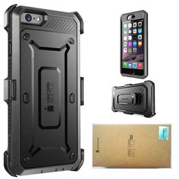 Wholesale Pro America - America Supcase For iPhone 6 Plus Galaxy S6 Edge Unicorn Beetle Pro Rugged Holster Case Rugged Protection With Retail Box