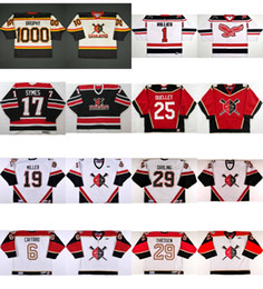 Wholesale M Wheels - Personalized ECHL Wheeling Nailers Jersey 17 Brad Symes 1 Craig Hillier 25 Michel Ouellet Ice Hockey Cheap Jerseys Customized Goalit Cut
