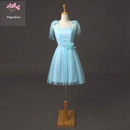 Fiore 9 colori abiti da ballo corto tulle party-dress abiti da ballo partito abiti da ballo abiti da laurea dhROM80001 da