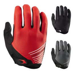 Wholesale Long Gloves For Men - New Long Finger Cycling Glove for Men Women GEL Outdoor Sport Motocross Mountain Bike Bicycle Glove Off Road MTB Gloves