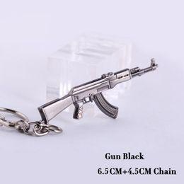 Artículos novedosos Counter Strike AK47 Guns Keychain Trinket Awp Rifle Sniper Key Chain Llavero Jewelry Souvenirs Gift Men Llaveros desde fabricantes
