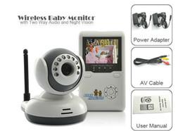 "Wholesale One Digital Monitor - 2.4"" TFT Digital Wireless Baby Video Monitor One Camera IR Night Vision Voice Intercom Electronic Babysitter"