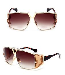 Wholesale Aviator Blue Sunglasses - High quality 951 Sun glasses Eyewear Luxury Polarized Vintage Mens Womens Aviator Sunglasses Brand Designer Oversized Big Frame Eyeglasses