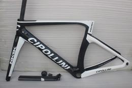 Wholesale Bike Bond - Wholesale price 2016 white cipollini NK1K carbon road bike frame complete carbon fiber bicycle frame RB1000,BOND XXS,XS,S,M,L