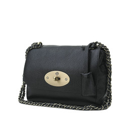 Wholesale Designer Small Leather Bag - Hot Famous Brand Designer Handbags Genuine Leather Tote Bags Fashion Chain Bags Britsh Style Shoulder Bags