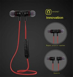 m9 iphone Sconti Auricolare Bluetooth stereo M9 Auricolari wireless Auricolari Bluetooth 4.1 Costruito nel microfono per Smart Phone Hifi Lettore musicale EAR187