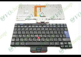 Wholesale Notebook Layouts - New Notebook Laptop keyboard for IBM Thinkpad X40 X41 Black AR (Arabic) Layout Black - 93P4609