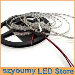 Wholesale Wired Blue Led 5mm - Narrow PCB 5mm SMD 2835 120Led m 5M 600 SMD non-waterproof Led Strip light White Warm white Blue Red Green