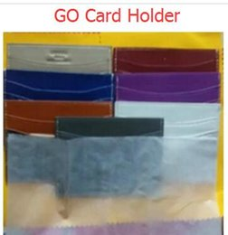 Wholesale European Style Candy Box - GO malesharbes cad holder leather wallet card more letter credit card bus card package with the box