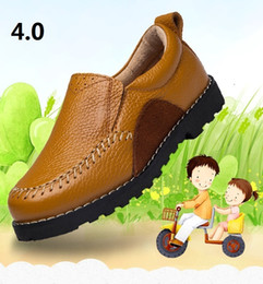 Wholesale Leather Bows Shoes - Eva Store 2017 UUBB 4.0 children leather high quality shoes