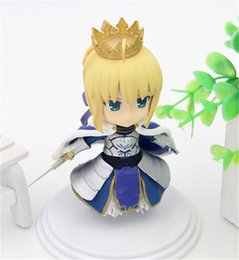 Wholesale Finish Order - 170602 Qiuchany Fate Stay Night Aniplex Fate Grand Order Saber PVC Action Figure Toy Collection Hobby Gift Doll
