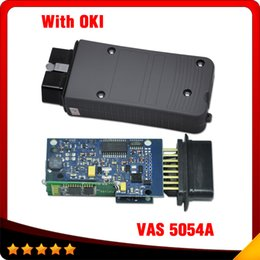 Wholesale Vw Auto Diagnostic Scanner - 2016 Newest version Auto scanner VAS 5054 Bluetooth Dignostic Interface vas5054a with OKI ODIS V3.0.3 5054 scanner Free shipping