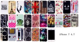 Wholesale Iphone Retro Game - For Iphone 7 Iphone7 Game Player Tape Retro Sweet Cute Butterfly Skin case Soft TPU Gel Clear cover 5pcs 10pcs